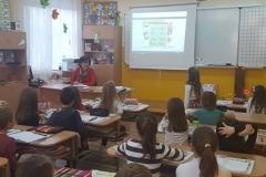 Ажда Хасан -МОН при учениците от 1 - В клас