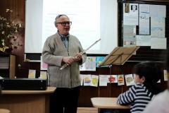 доц.д-р Венцислав Киндалов при 3 - А и 3 - Б  клас